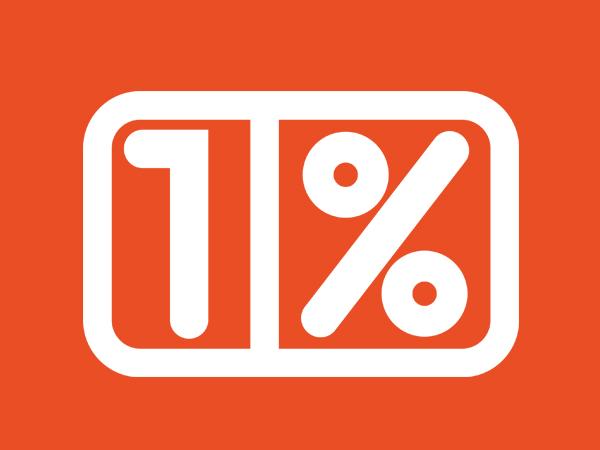 <span>1%</span><i>→</i>