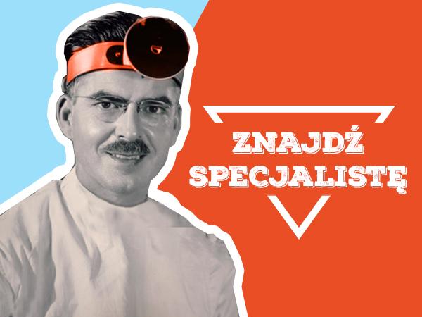 <span>Znajdź specjalistę</span><i>→</i>